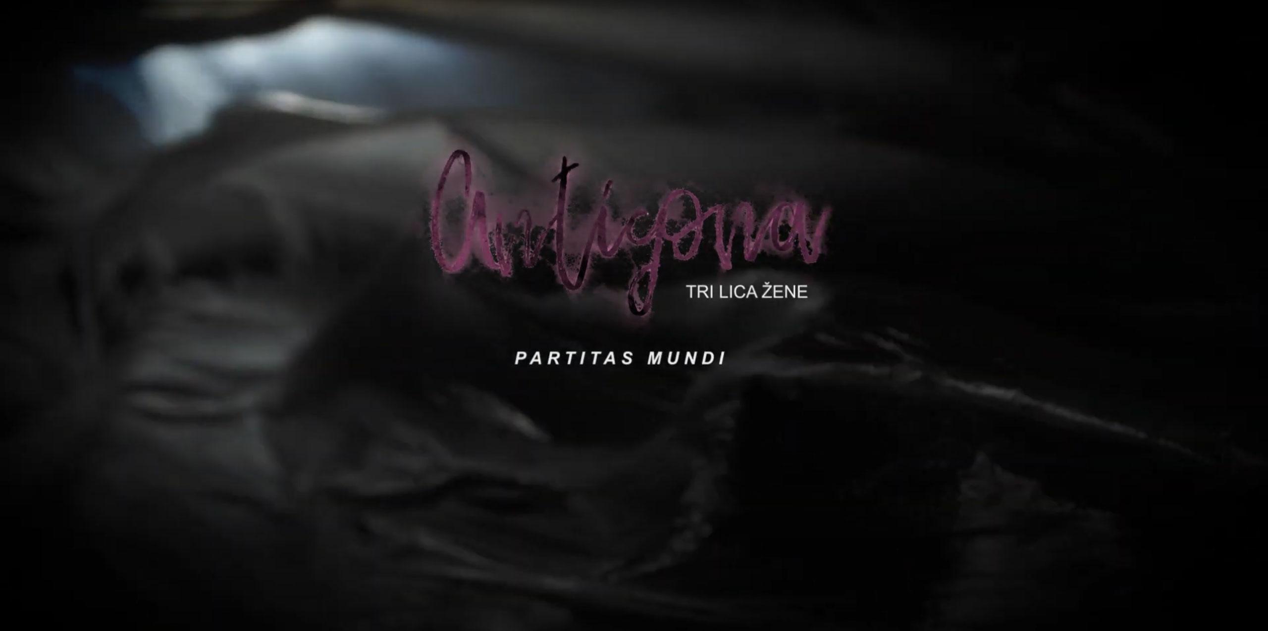 Antigona - Tri lica žene